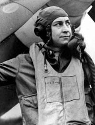 Maj. Wallace P. Mace, 356th FS